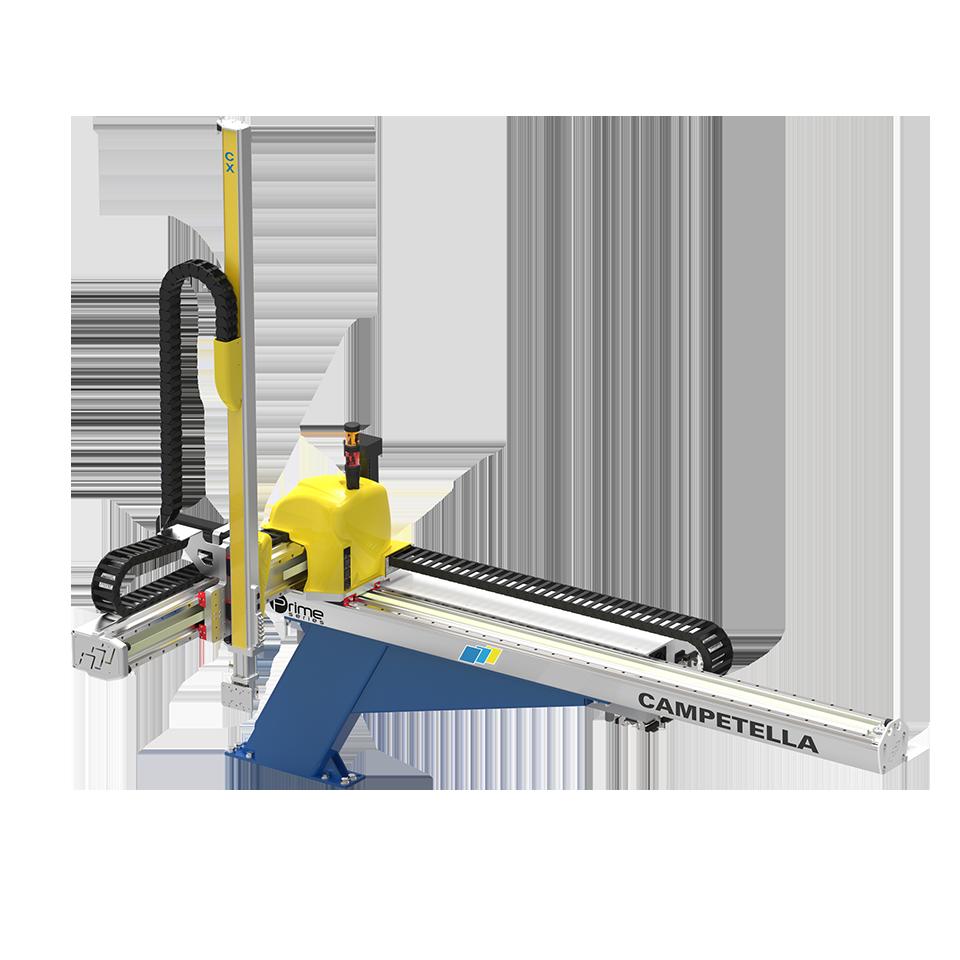 Cartesian top entry robot CX1 PRIME – Campetella Robotic Center